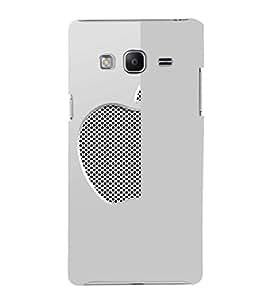 EPICCASE Half Net Apple Mobile Back Case Cover For Samsung Tizen Z3 (Designer Case)