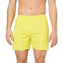 Arena Erkek Fundamentals Boxer Şort, Yellow Star-White