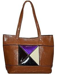 Kézitáska Women Top Handle Satchel Handbags Shoulder Bag Top Purse Messenger Tote Bag Travel Duffle Bag - B077Y2S4QD