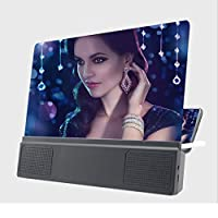 LIUXIN Mobile Phone Screen Amplifier, High-definition Large-screen Speaker Amplifier, Desktop Universal Bracket