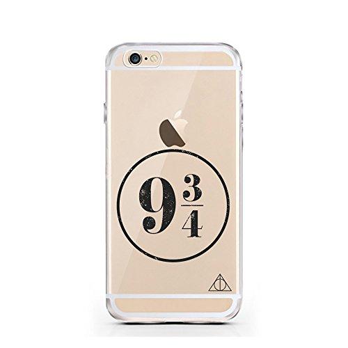 iPhone 7 Hülle von licaso® für das Apple iPhone 7 aus TPU Silikon always HEART Love Herz Liebe Muster ultra-dünn schützt Dein iPhone 7 & ist stylisch Case Design Schutzhülle Bumper Geschenk (iPhone 7, 9 3/4 Harry Potter