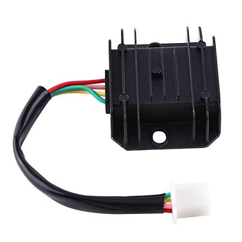 Regulador de voltaje de la motocicleta 4 cables 4 pines 12 regulador...