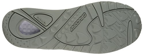 Saucony Herren Grid 9000 Niedrige Sneaker, 41 EU Blau (Navy/White)