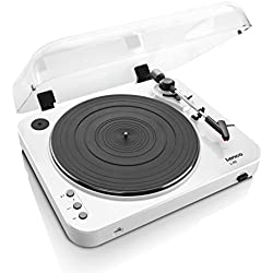 Lenco L-85 Belt-drive audio turntable Color blanco - Tocadiscos (Color blanco)