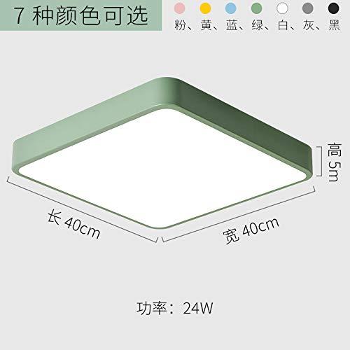 Schlafzimmer Balkon Lampe kreative Wohnzimmerlampe LED-Lampen 40cm gelb-weißes Licht