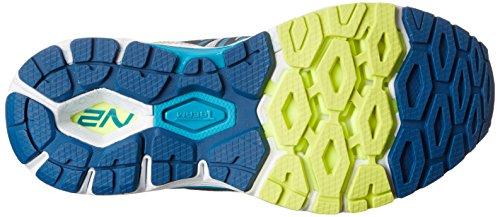 New Balance W1260 B V5, Damen Laufschuhe silber/blue