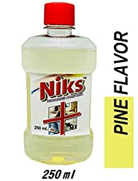 Niks White Phenyl Concnetrate 250ml(Transparent) Make 5.25 Ltr Phenyl from 250ml concentrate.