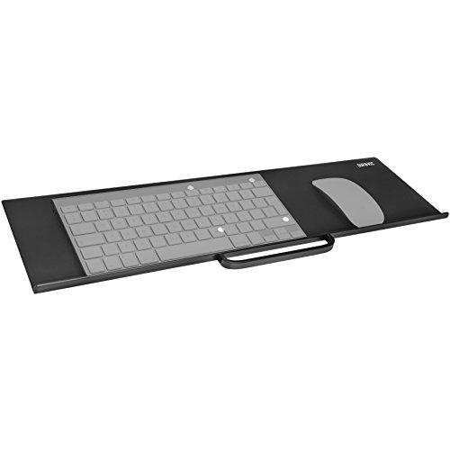 Duronic DM0K1 Tastaturhalterung - Keyboardauflage zum Anhängen - Kompatibel mit Duronic Monitorhalterungen und Monitorständern - Büromöbel-sortiment