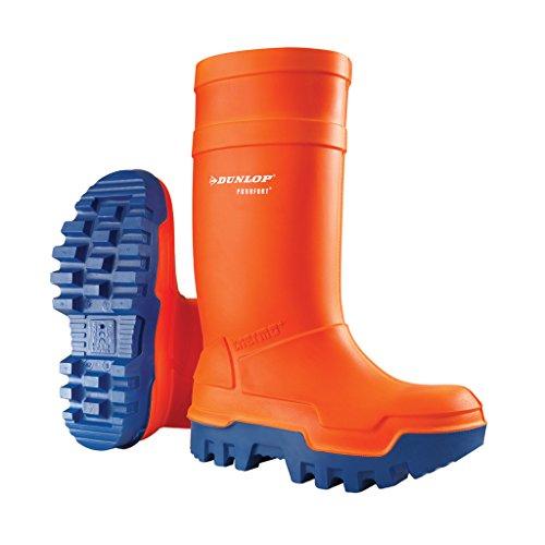Dunlop DUNLOP Gummistiefel Thermo-Plus 43, orange