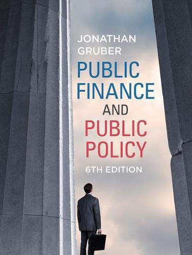 Public Finance Public Policy