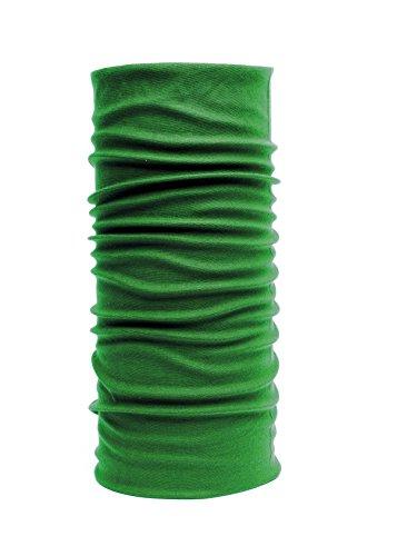 Nexi Multifunktions Tuch Schlauchtuch - universell einsetzbar als Schal, Kopftuch, Kälteschutz - Unicolour U01