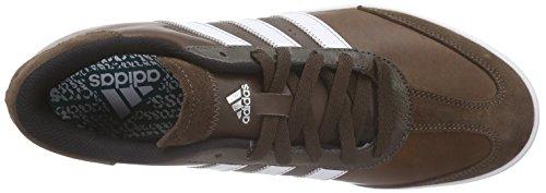 adidas Adicross V, Men's Golf Shoes, Brown (Brown/White/Eqt Green), 8.5 UK (42.5 EU)