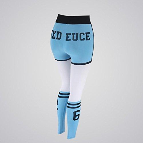 LILICAT Pants - Leggings sportivi -  donna Blue
