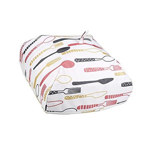 D DOLITY Lebensmittel Abdeckung, zusammenklappbare Schirm Zelt Schutz vor Fliegen, Mosquitos - Rotes Geschirr L - X4-zelt