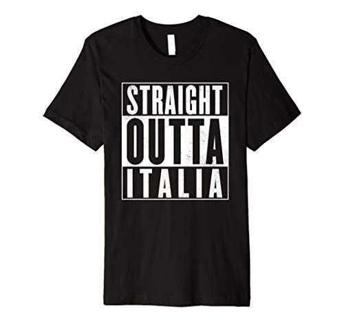 STRAIGHT OUTTA ITALIA - Italien T-Shirt