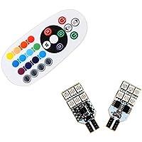 S & D 2x T15Lampadina LED per lettura Luce Luci porta–Facile controllata con più colorato rgb
