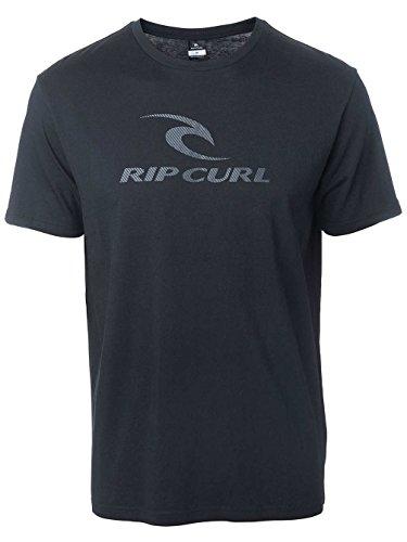 Herren T-Shirt Rip Curl Marky T-Shirt Black