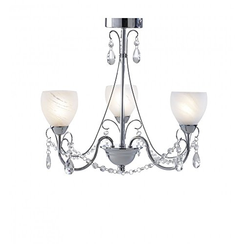 DAR Crawford 3 Light Mini Chandelier