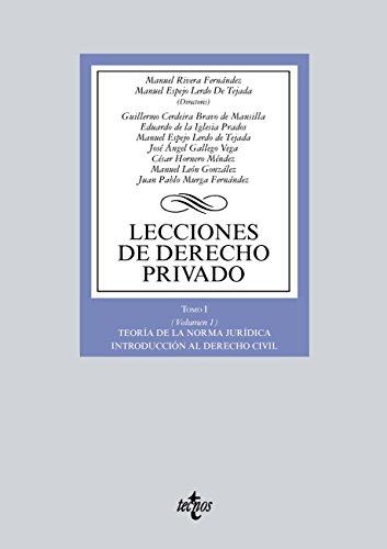 Lecciones de Derecho privado (Derecho - Biblioteca Universitaria De Editorial Tecnos) por Manuel Rivera Fernández