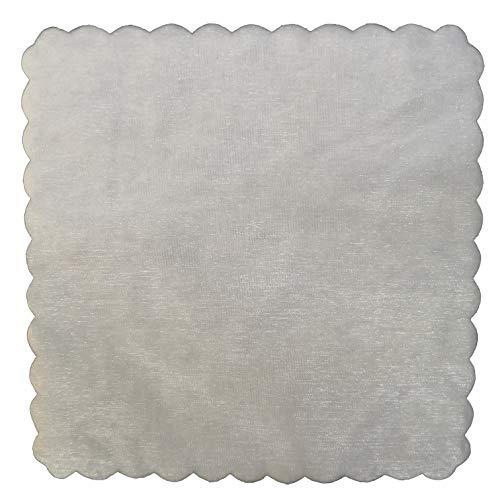 100 x velo veli di fata tulle organza quadrato veletti bomboniere fai da te confetti bianco themagicfour®