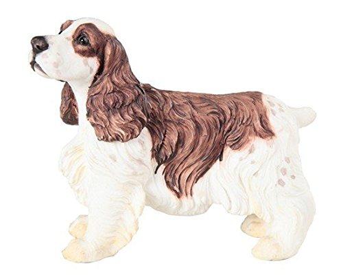 stealstreet ss-g-18095, cremefarben und Braun Springer Spaniel stehend Hund bemalt Figur, multicolor (Spaniel Hund-figur Springer)