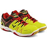 Victor All-Around Series SH-A610-CE Professional Badminton Shoe (Yellow/Black)