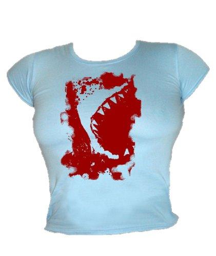 Blue Ray T-Shirts -  T-shirt - Donna Bleu - Sky