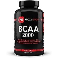 Prozis Sport BCAA 2000, Suplementos - 200 Tabletas