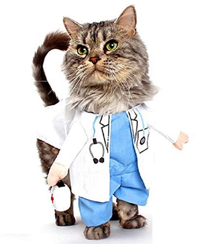 Inception Pro Infinite Kostüm - Verkleidung - Arzt - Arzt - Katze (M)