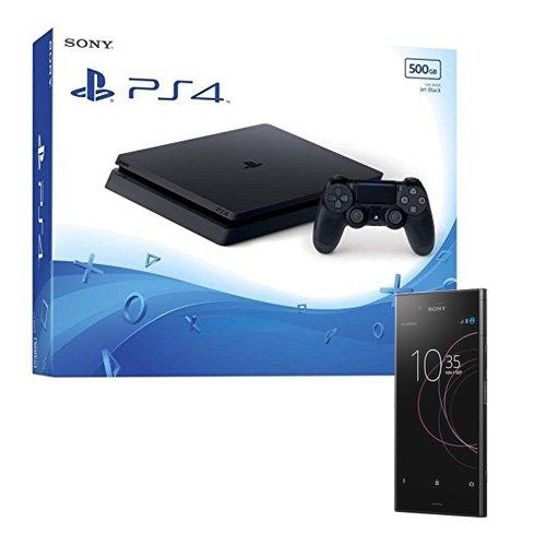 """Pack PS4 + Jeu """"Qui es-tu?"""" (Digital) + Sony Xperia XZ1 noir + Jusqu'à 1 an d'Amazon Music Unlimited remboursé + 100€ d'offre de remboursement"""