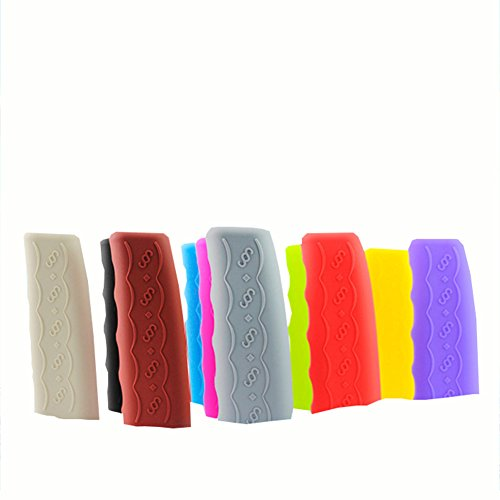 Nikgic Automotive Universal Multi-Color-Silikon-Gel-Parken Handbremse rutschfeste Schutzhülle Rutschfester verstärkter Handbremsschutz