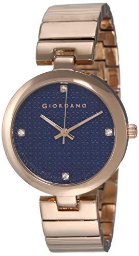Giordano Analog Blue Dial Women's Watch - A2059-55