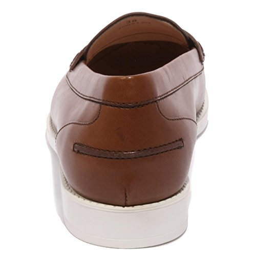 B1511 mocassino donna TOD'S scarpa marrone loafer shoes woman marone