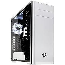 BitFenix Nova TG Blanco carcasa de ordenador - Caja de ordenador (PC, De plástico, Acero, Vidrio templado, ATX,Micro-ATX,Mini-ITX, Blanco, Juego, 16 cm)