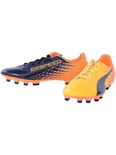 Puma Herren Evospeed 17.2 Ag Fußballschuhe dunkelblau - orange