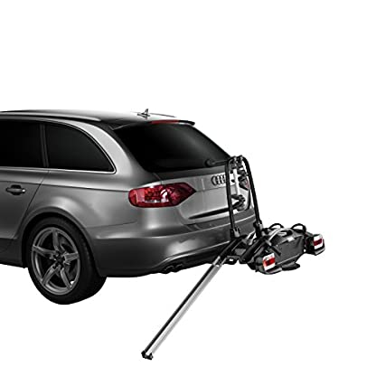 Thule 925001,Velo Compact 925, 2Bike, Towball Carrier, 7 pin 8