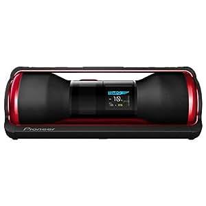 Pioneer STZ-D10Z-R Steez Portable Music System (40 Watt, 4GB interner Speicher, Battle/DJ-Modus) rot