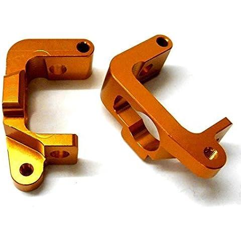 BMT0002 1/10 Lega HPI Proiettile 3.0 Anteriore C Portamozzo Supporto Sinistro E Destro Arancio