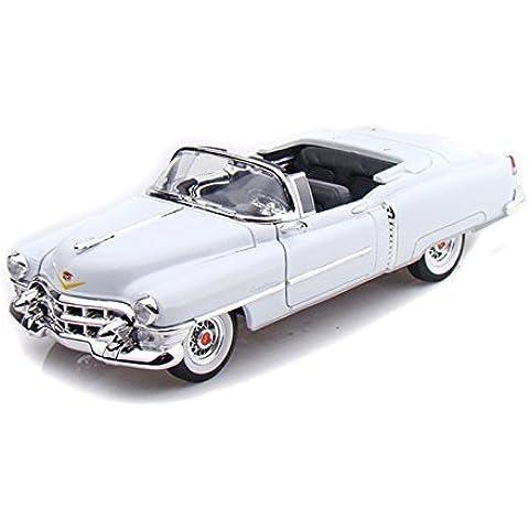 1953 Cadillac ElDorado Convertible (Top Down) 1/27 - White by Collectable Diecast