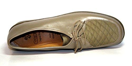 Ganter Renate Comfort 77 818 07 Damen Schuhe Halbschuhe, Weite G Braun (Muskat)