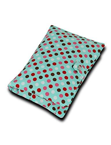 """boubalou Windeletui """"Dots"""" - kleine Wickeltasche für unterwegs aus Stoff"""