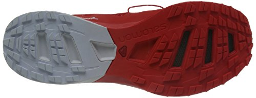 Salomon S-Lab Sense 5 Ultra, Chaussures de Running Compétition Mixte Adulte Multicolore (Racing Red/White/Racing Red)