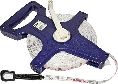 HKB® Maßband, Massband 50m Fiberglass Rollbandmaß Bandmaß 50773
