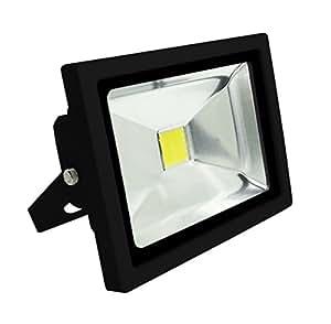 Elexity - Projecteur LED 50W Noir sans detecteur - IP65 CE