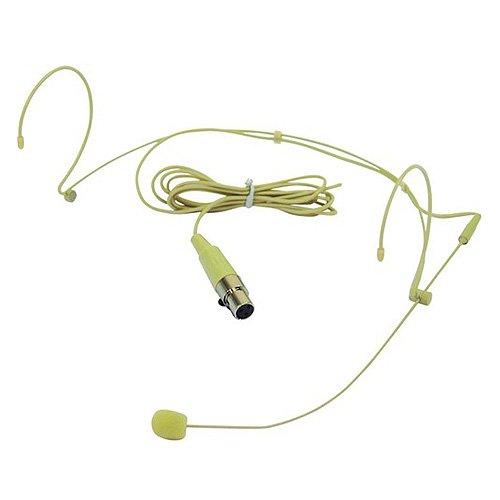 Omnitronic 13056035 HS-1100 XLR Headset-Mikrofon (Mikrofon Headset, Xlr)