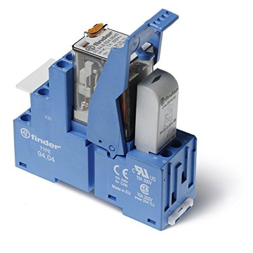 Finder Serie 58–RELE Serie 5-Modul 12VDC LED + Diode