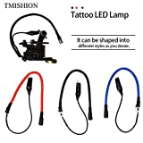 Portal Cool TMISHION 3 stücke Einstellbare Tattoo LED Lampe Licht 3 Farben/set Für Tattoo Maschine Montiert Gun Taschenlampe Stromversorgung Zubehör