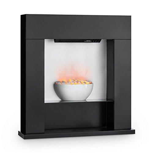 Klarstein Studio 8 Chimenea eléctrica • Calefactor de Pared • 1000 y...