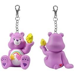 Care Bears figura: compartir un oso serie 2-morado mejor amigo oso de peluche con estrella Clip