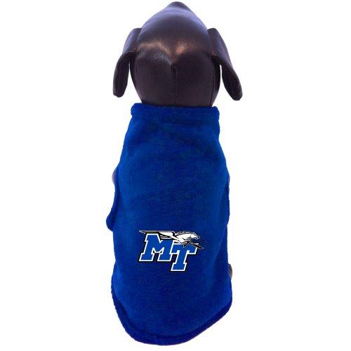 All Star Dogs NCAA Mitte Tennessee State blau Raiders ärmellos Polar Fleece Hund Sweatshirt, Herren, blau, XXL Fleece-jersey Sweatshirt